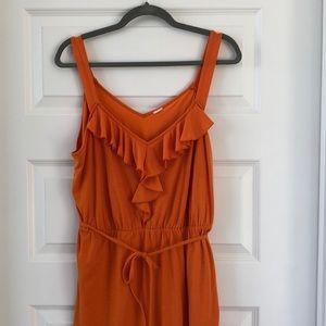 Dresses & Skirts - fun bright ruffled summer dress plus size